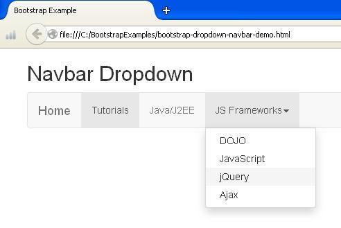 Clickable Dropdown