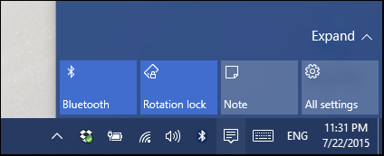 Configure Notification Center