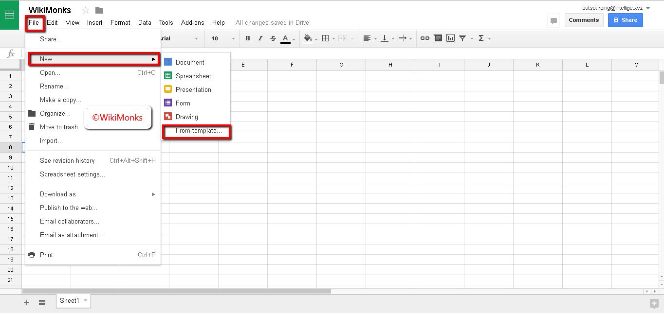 Google Sheet Tips