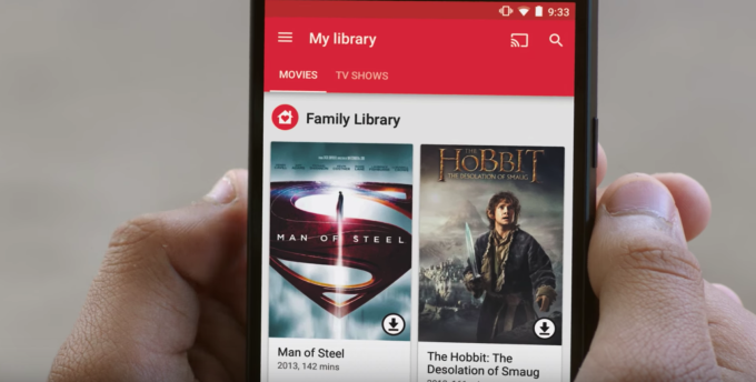 Google launches Family Library