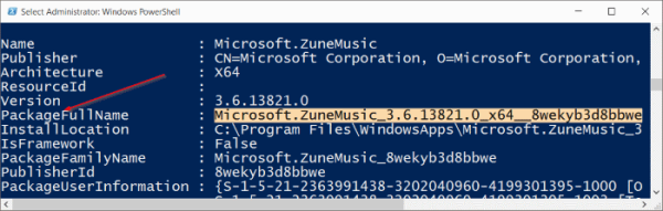 Groove Music Windows