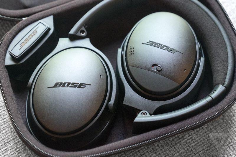 Bose QC 35 headphones
