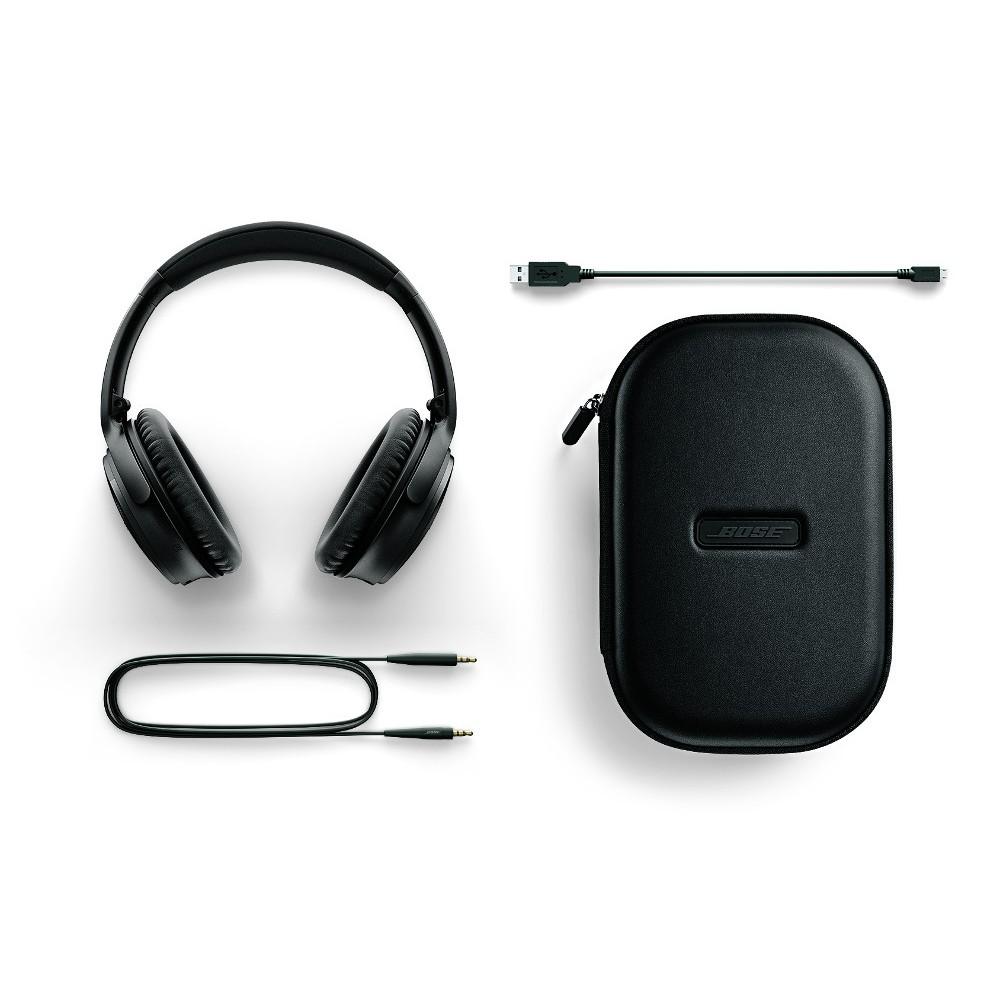 Bose QC35 headphones black