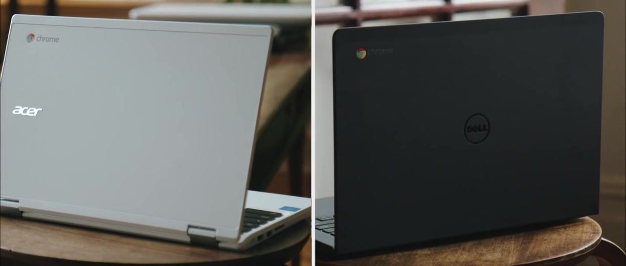 Chromebook Acer and Dell