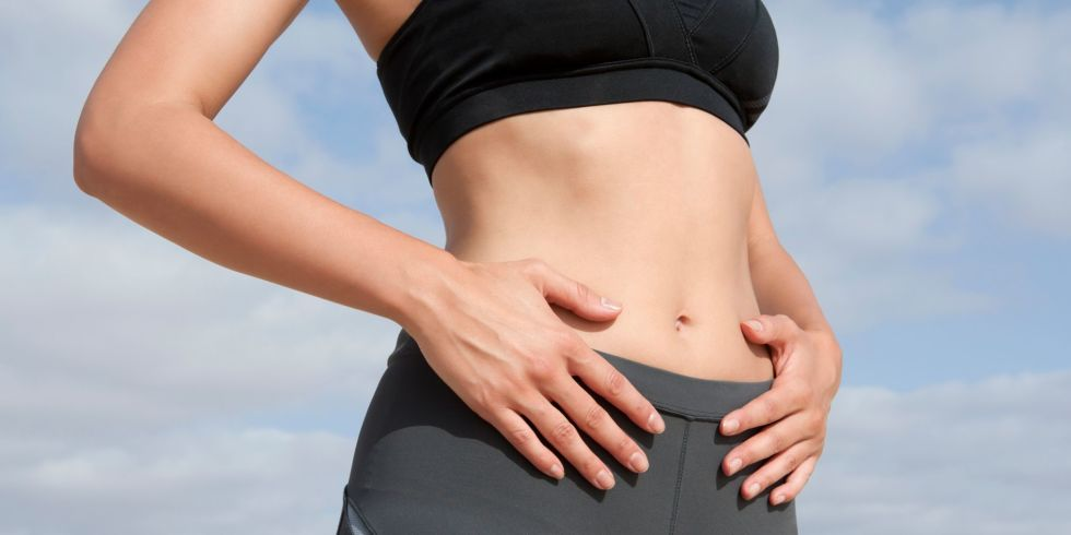 Get a Flat Belly Without Diet or Exercise