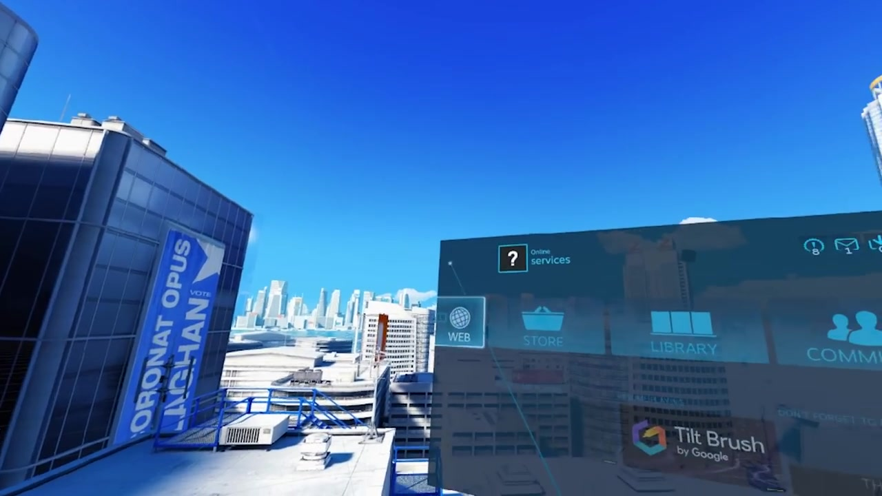 HTC Vive VR PC View