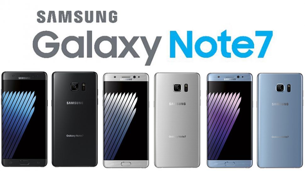 Samsung Galaxy Note7 Colors