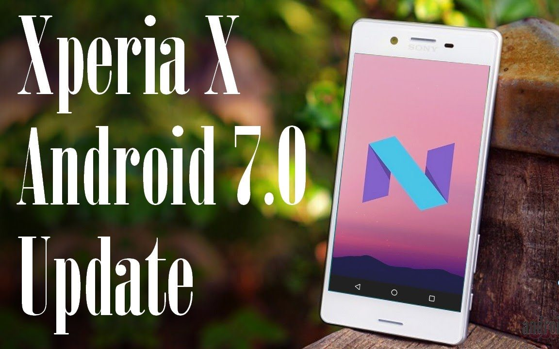 Sony Android Nougat