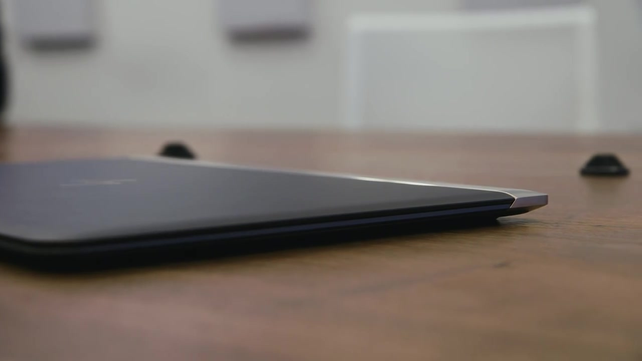 Ultra thin HP Spectre laptop