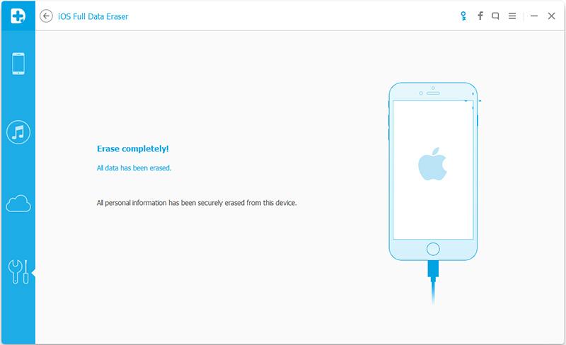 iOS full data eraser