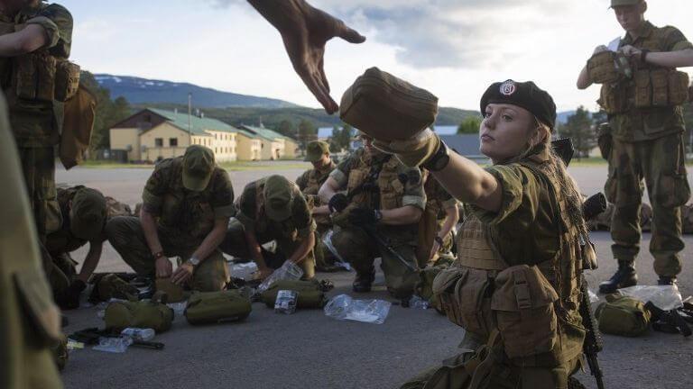Norwegian Woman Army