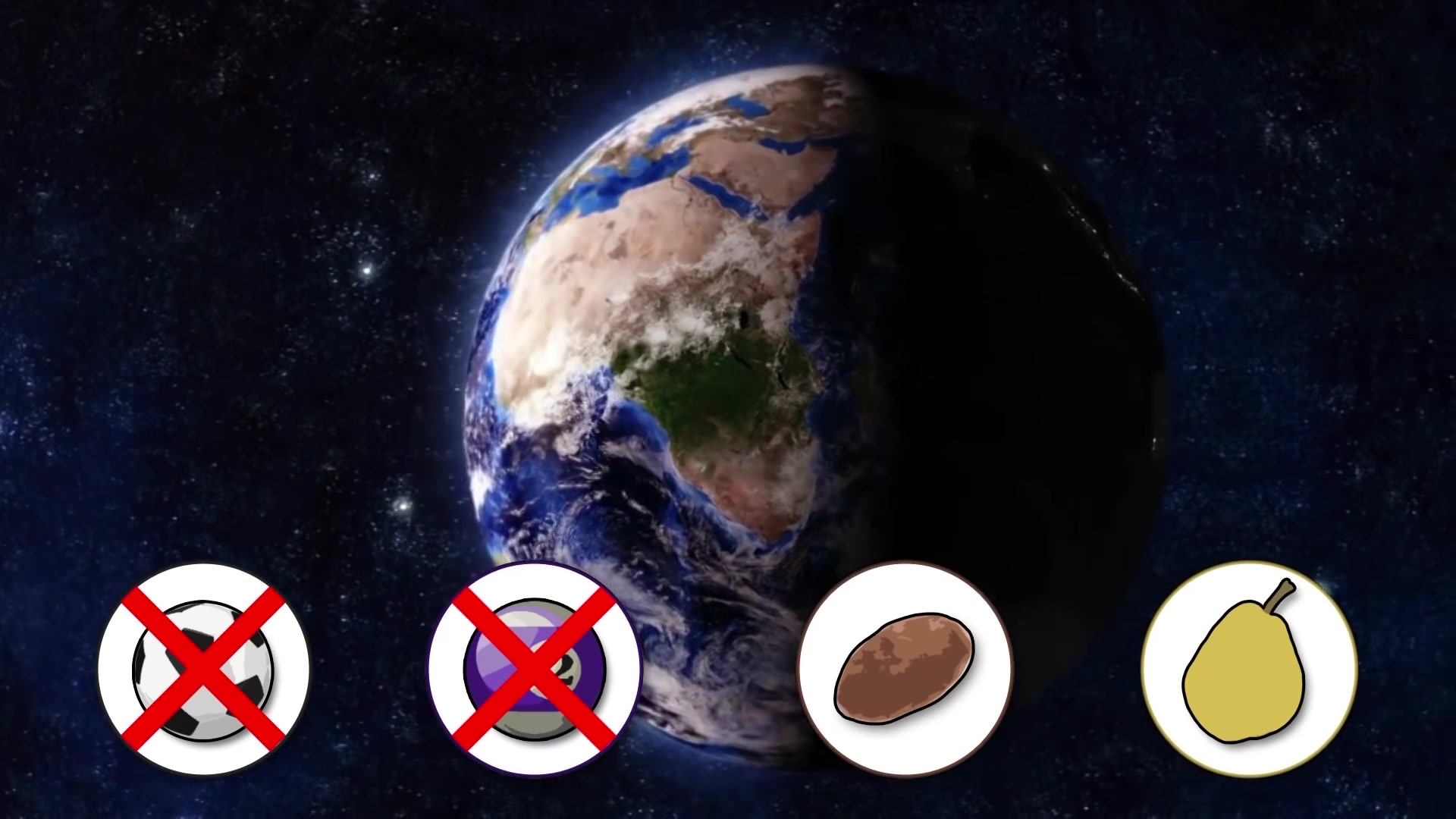 Earth is round