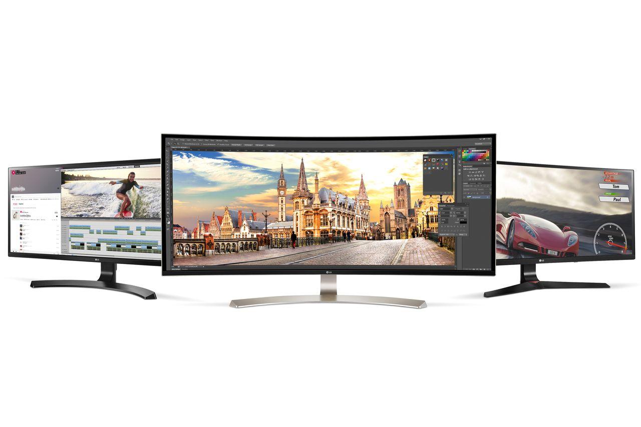 LG's latest monitor