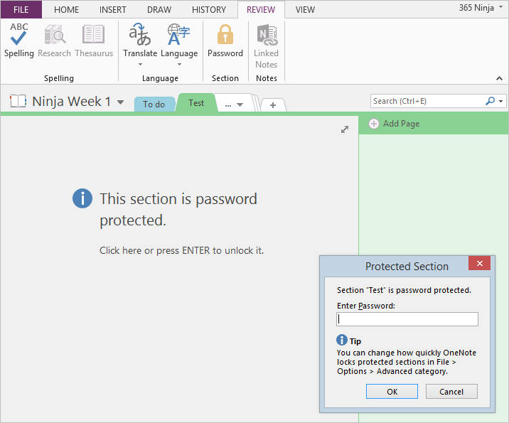 password-protected-onenote-section