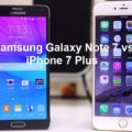 Samsung Galaxy Note 7 vs Apple iPhone 7 Plus