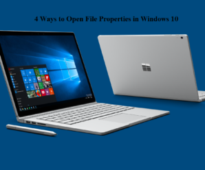 4 Ways to Open File Properties in Windows 10