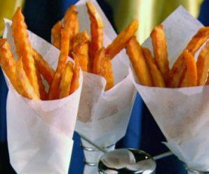 Simple Process To Make Sweet Potato Fry