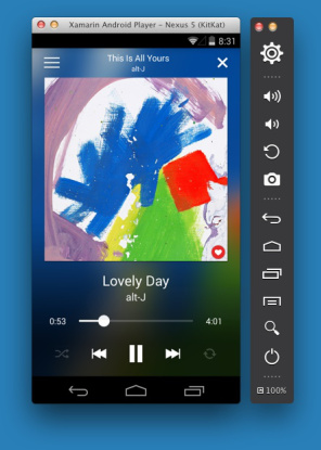 xamarin-android-player