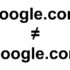 Here's a Secret : Google.com is not google.com