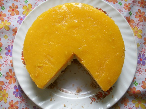 Mango Cake Recipe Without Eggs