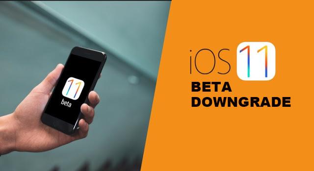 How To Downgrade iOS 11 Beta To iOS 10 3 2 / 10 3 3